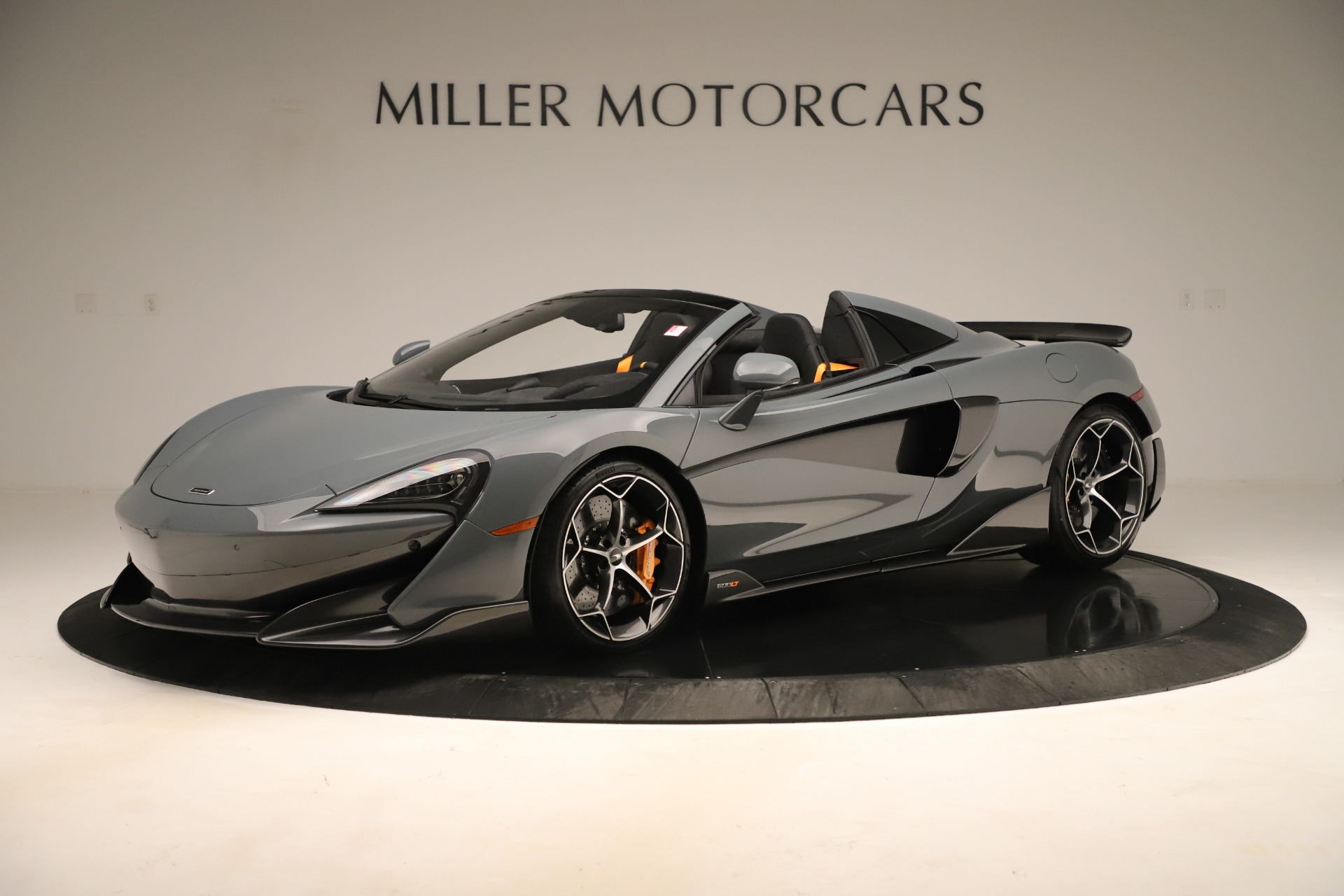 Used 2020 McLaren 600LT Spider for sale Sold at Bugatti of Greenwich in Greenwich CT 06830 1