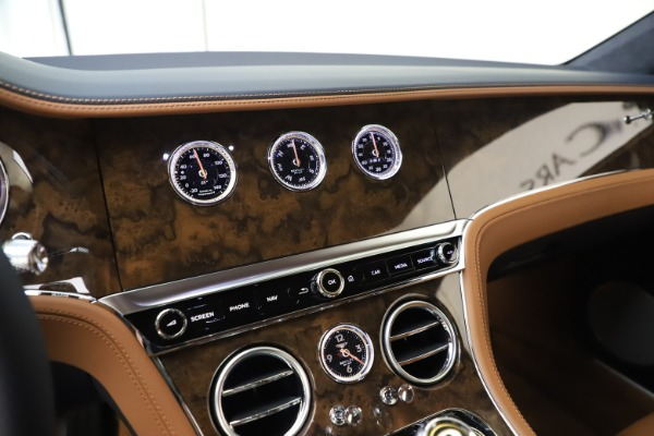 New 2020 Bentley Continental GT V8 for sale Sold at Bugatti of Greenwich in Greenwich CT 06830 24