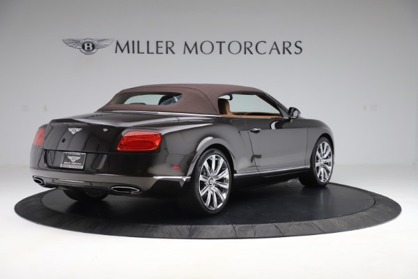 Used 2013 Bentley Continental GT W12 for sale Sold at Bugatti of Greenwich in Greenwich CT 06830 16