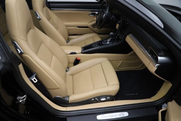 Used 2016 Porsche 911 Targa 4S for sale Sold at Bugatti of Greenwich in Greenwich CT 06830 19