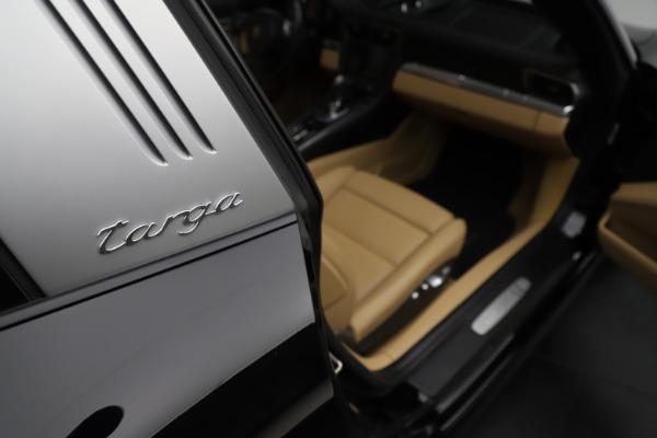 Used 2016 Porsche 911 Targa 4S for sale Sold at Bugatti of Greenwich in Greenwich CT 06830 21