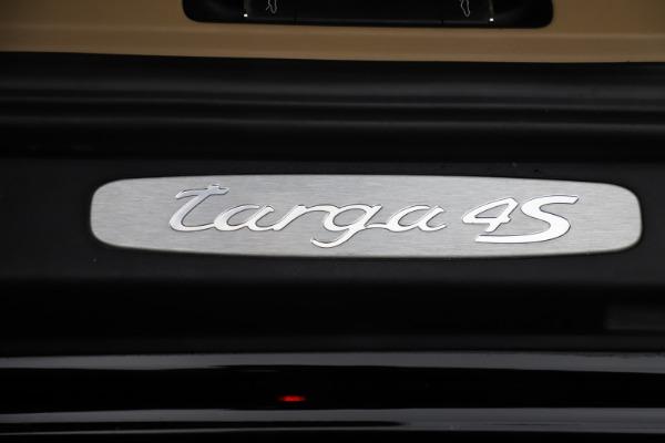 Used 2016 Porsche 911 Targa 4S for sale Sold at Bugatti of Greenwich in Greenwich CT 06830 23
