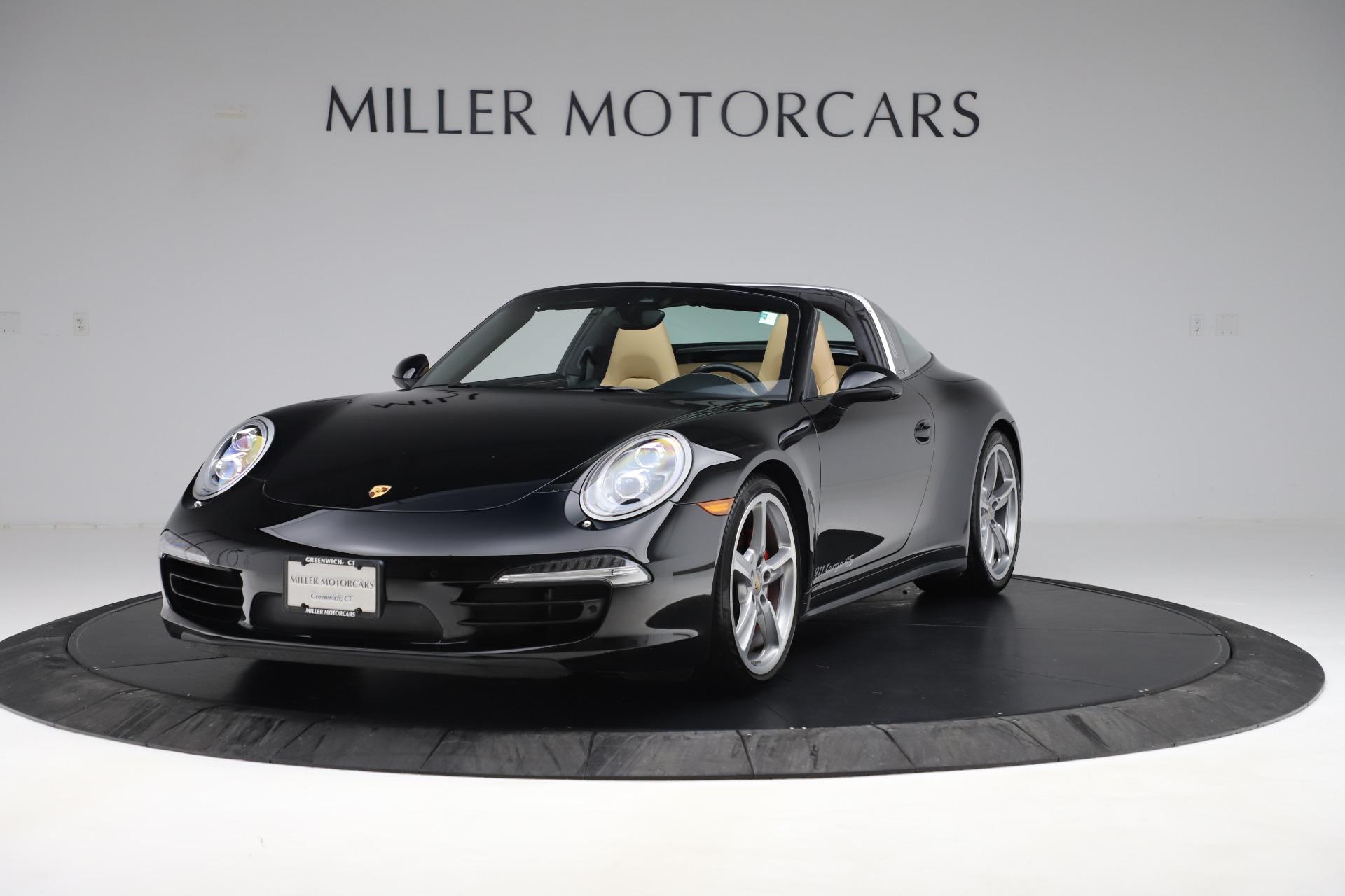 Used 2016 Porsche 911 Targa 4S for sale Sold at Bugatti of Greenwich in Greenwich CT 06830 1