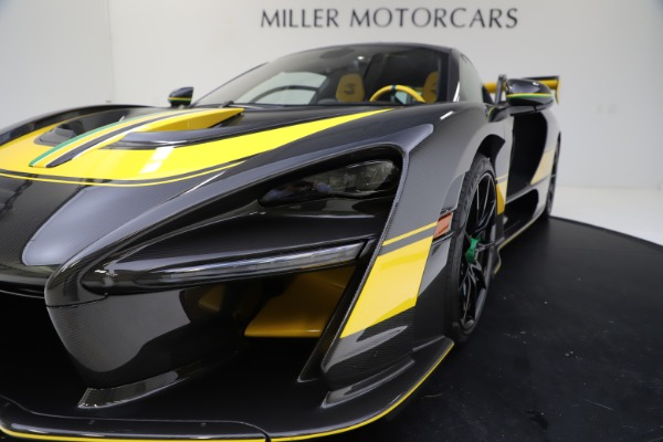 Used 2019 McLaren Senna for sale Sold at Bugatti of Greenwich in Greenwich CT 06830 25