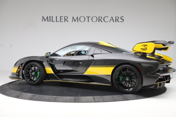 Used 2019 McLaren Senna for sale Sold at Bugatti of Greenwich in Greenwich CT 06830 3