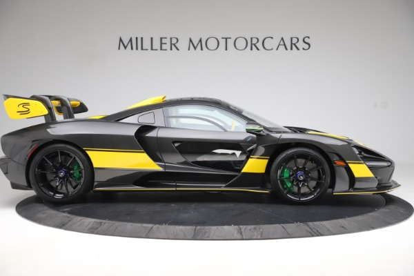 Used 2019 McLaren Senna for sale Sold at Bugatti of Greenwich in Greenwich CT 06830 8
