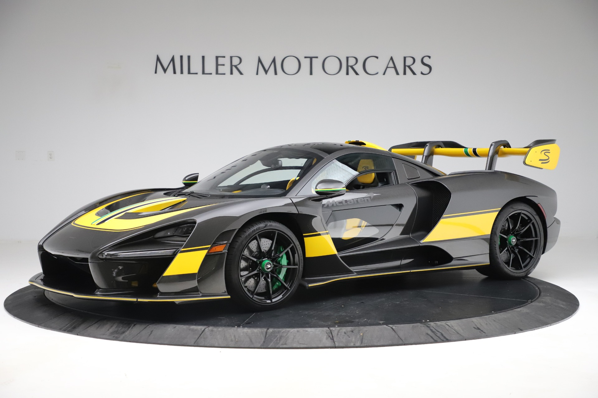 Used 2019 McLaren Senna for sale Sold at Bugatti of Greenwich in Greenwich CT 06830 1