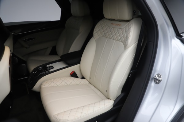 Used 2018 Bentley Bentayga Mulliner Edition for sale Sold at Bugatti of Greenwich in Greenwich CT 06830 24