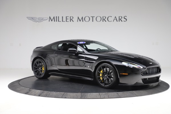 Used 2015 Aston Martin V12 Vantage S Coupe for sale $99,900 at Bugatti of Greenwich in Greenwich CT 06830 9
