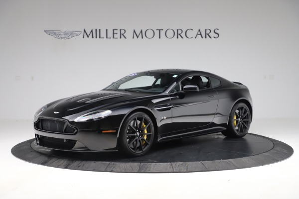 Used 2015 Aston Martin V12 Vantage S Coupe for sale $99,900 at Bugatti of Greenwich in Greenwich CT 06830 1