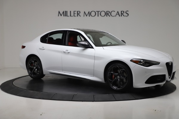 New 2019 Alfa Romeo Giulia Ti Sport Carbon Q4 for sale Sold at Bugatti of Greenwich in Greenwich CT 06830 10