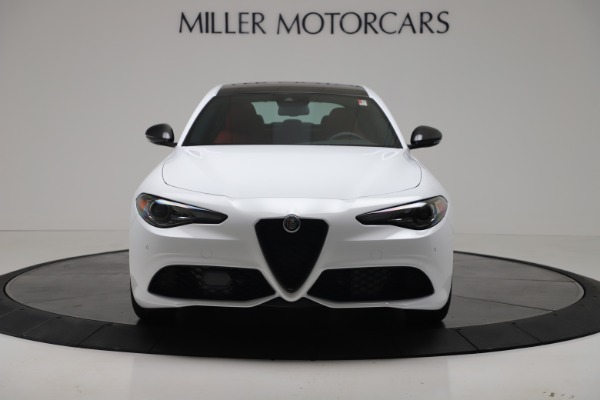 New 2019 Alfa Romeo Giulia Ti Sport Carbon Q4 for sale Sold at Bugatti of Greenwich in Greenwich CT 06830 12