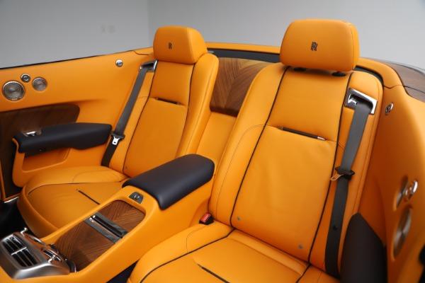 Used 2017 Rolls-Royce Dawn for sale $249,900 at Bugatti of Greenwich in Greenwich CT 06830 21