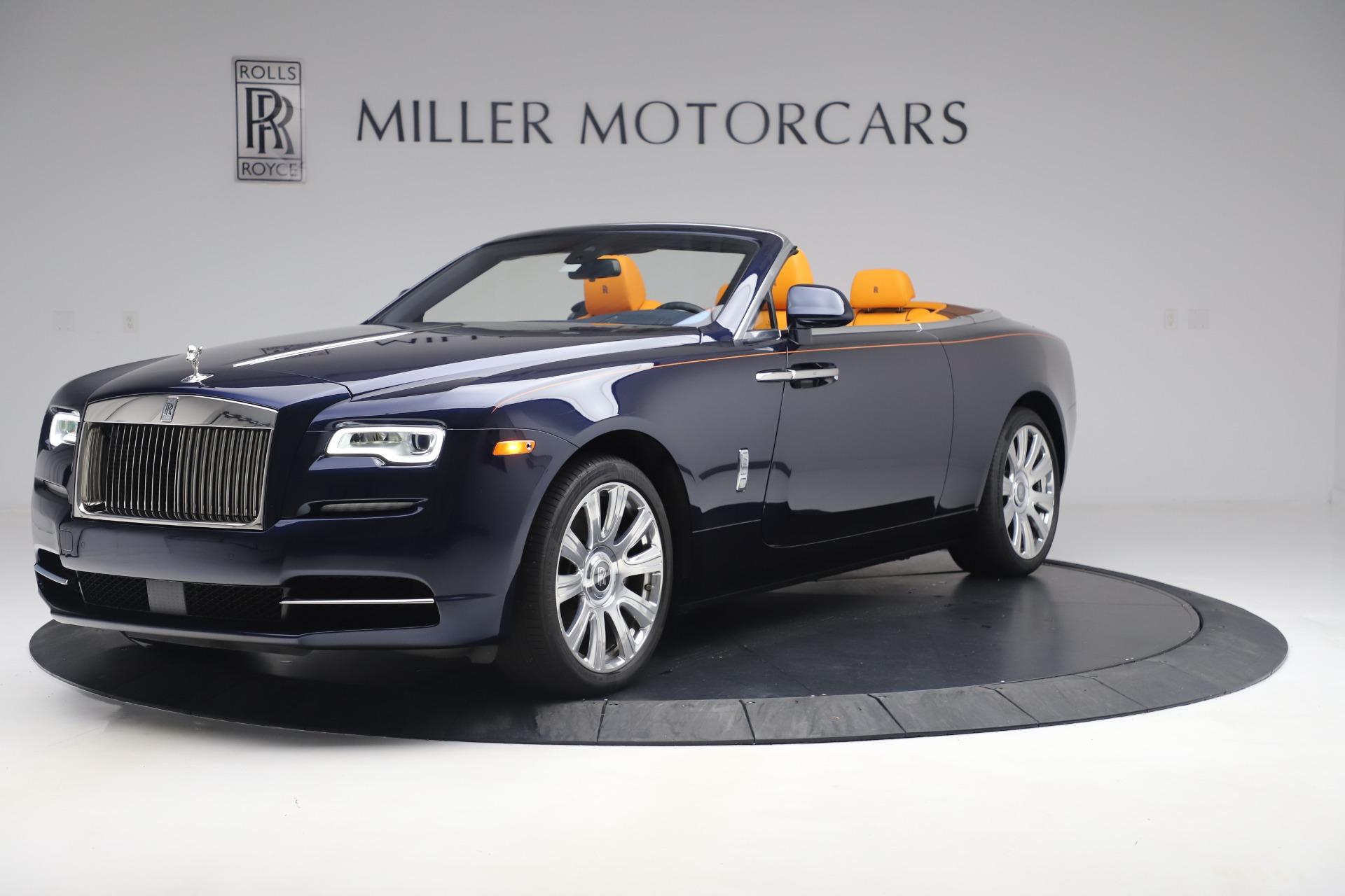 Used 2017 Rolls-Royce Dawn for sale $249,900 at Bugatti of Greenwich in Greenwich CT 06830 1