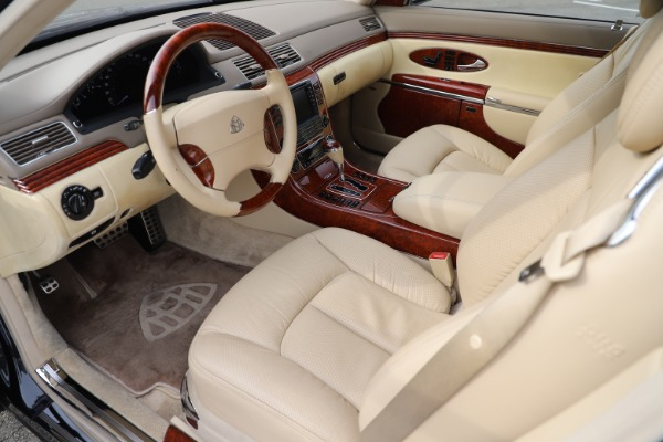 Used 2009 Maybach 62 for sale Sold at Bugatti of Greenwich in Greenwich CT 06830 13