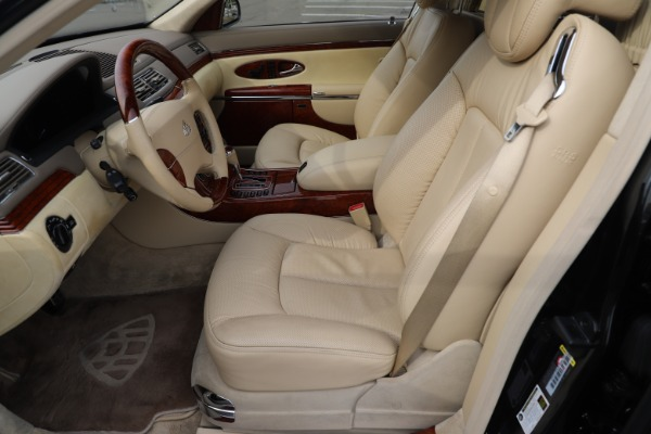 Used 2009 Maybach 62 for sale Sold at Bugatti of Greenwich in Greenwich CT 06830 14