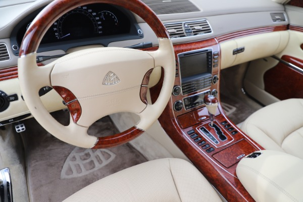 Used 2009 Maybach 62 for sale Sold at Bugatti of Greenwich in Greenwich CT 06830 16