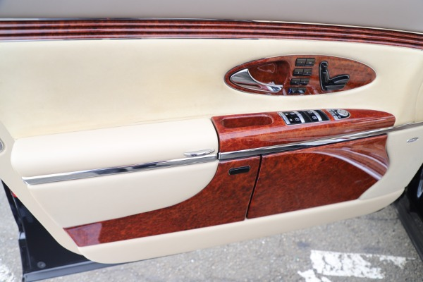 Used 2009 Maybach 62 for sale Sold at Bugatti of Greenwich in Greenwich CT 06830 17