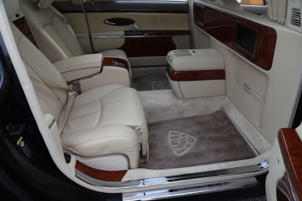 Used 2009 Maybach 62 for sale Sold at Bugatti of Greenwich in Greenwich CT 06830 22