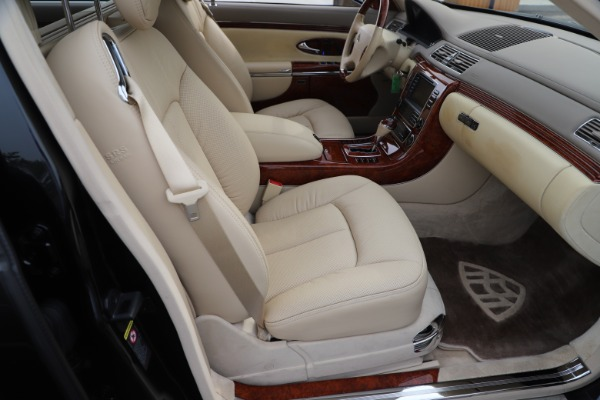 Used 2009 Maybach 62 for sale Sold at Bugatti of Greenwich in Greenwich CT 06830 25