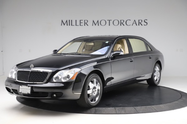 Used 2009 Maybach 62 for sale Sold at Bugatti of Greenwich in Greenwich CT 06830 1