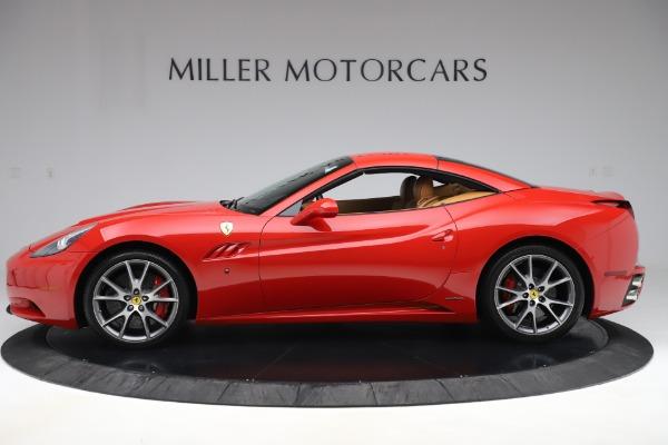 Used 2013 Ferrari California 30 for sale Sold at Bugatti of Greenwich in Greenwich CT 06830 14