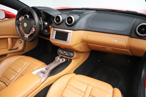 Used 2013 Ferrari California 30 for sale Sold at Bugatti of Greenwich in Greenwich CT 06830 24