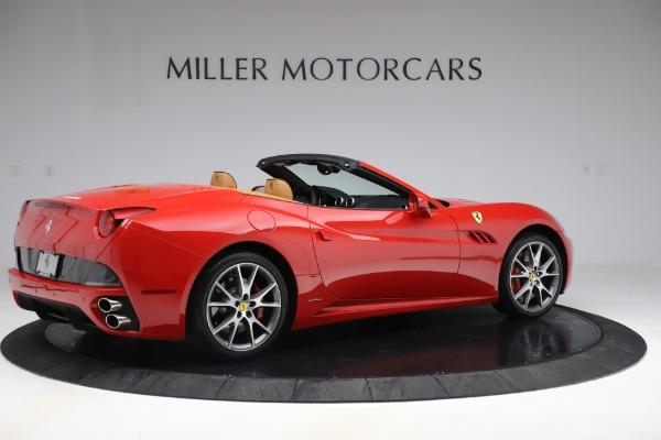 Used 2013 Ferrari California 30 for sale Sold at Bugatti of Greenwich in Greenwich CT 06830 8