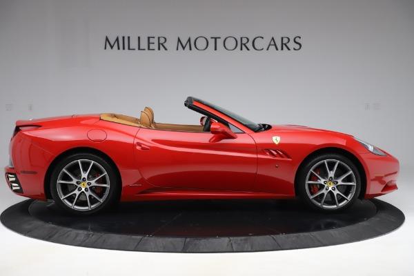Used 2013 Ferrari California 30 for sale Sold at Bugatti of Greenwich in Greenwich CT 06830 9