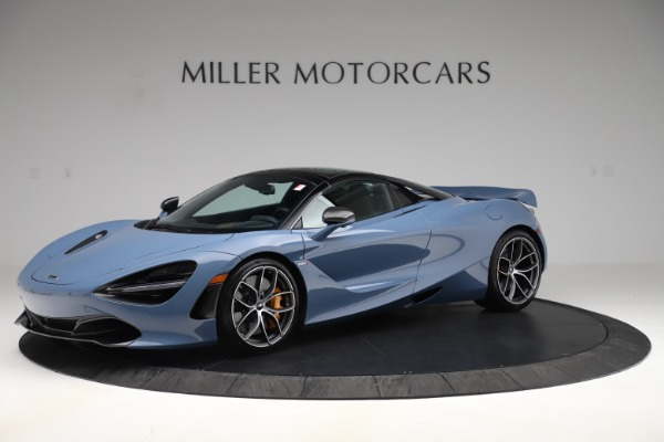 New 2020 McLaren 720S Spider Convertible for sale Sold at Bugatti of Greenwich in Greenwich CT 06830 16