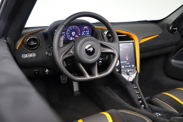 New 2020 McLaren 720S Spider Convertible for sale Sold at Bugatti of Greenwich in Greenwich CT 06830 27