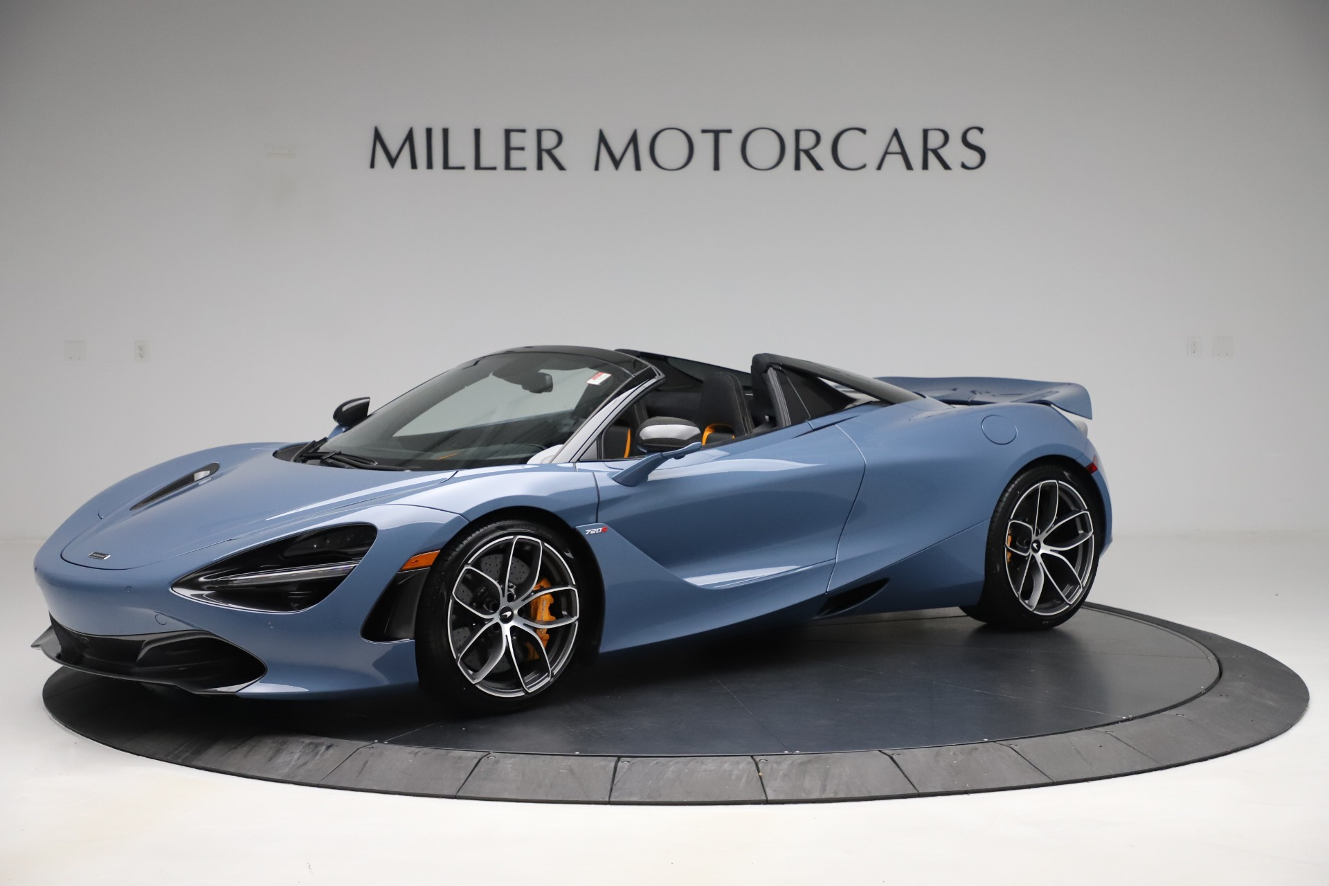 New 2020 McLaren 720S Spider Convertible for sale Sold at Bugatti of Greenwich in Greenwich CT 06830 1