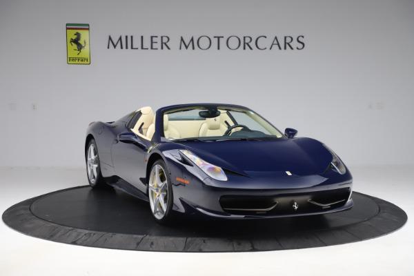 Used 2013 Ferrari 458 Spider for sale Sold at Bugatti of Greenwich in Greenwich CT 06830 11