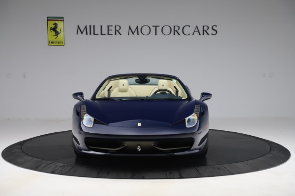 Used 2013 Ferrari 458 Spider for sale Sold at Bugatti of Greenwich in Greenwich CT 06830 12
