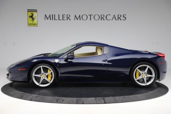 Used 2013 Ferrari 458 Spider for sale Sold at Bugatti of Greenwich in Greenwich CT 06830 14