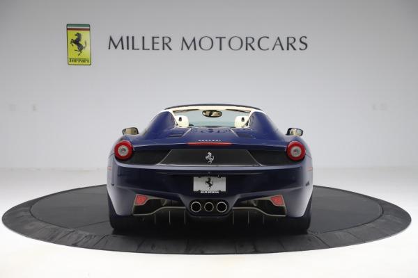 Used 2013 Ferrari 458 Spider for sale Sold at Bugatti of Greenwich in Greenwich CT 06830 6