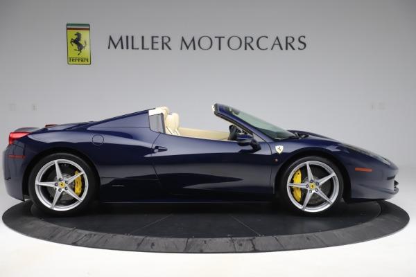 Used 2013 Ferrari 458 Spider for sale Sold at Bugatti of Greenwich in Greenwich CT 06830 9