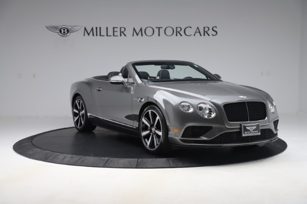 Used 2016 Bentley Continental GTC V8 S for sale $139,900 at Bugatti of Greenwich in Greenwich CT 06830 11