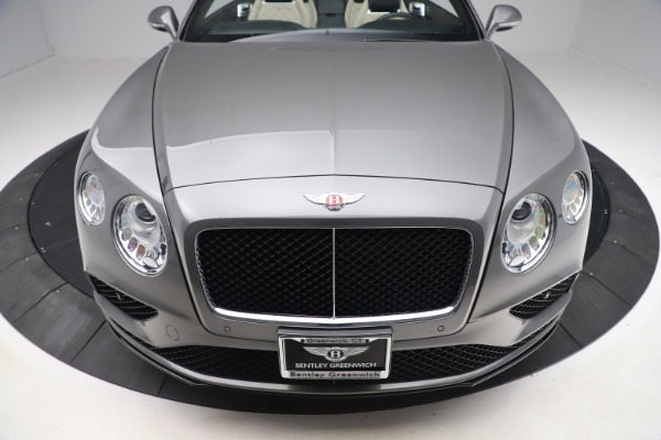 Used 2016 Bentley Continental GTC V8 S for sale $139,900 at Bugatti of Greenwich in Greenwich CT 06830 19