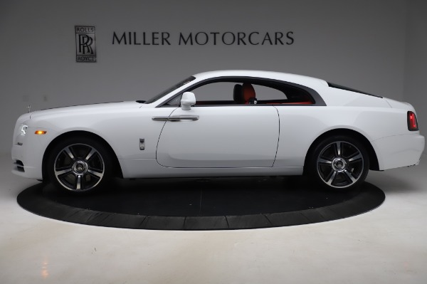 New 2020 Rolls-Royce Wraith for sale $392,325 at Bugatti of Greenwich in Greenwich CT 06830 3