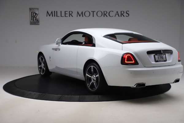 New 2020 Rolls-Royce Wraith for sale $392,325 at Bugatti of Greenwich in Greenwich CT 06830 4