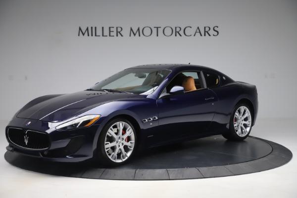Used 2016 Maserati GranTurismo Sport for sale Sold at Bugatti of Greenwich in Greenwich CT 06830 2