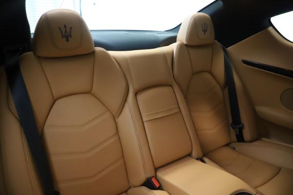 Used 2016 Maserati GranTurismo Sport for sale Sold at Bugatti of Greenwich in Greenwich CT 06830 23