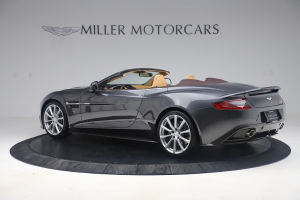 Used 2016 Aston Martin Vanquish Volante for sale Sold at Bugatti of Greenwich in Greenwich CT 06830 3