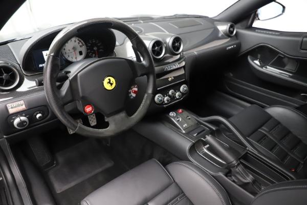 Used 2010 Ferrari 599 GTB Fiorano HGTE for sale Sold at Bugatti of Greenwich in Greenwich CT 06830 13