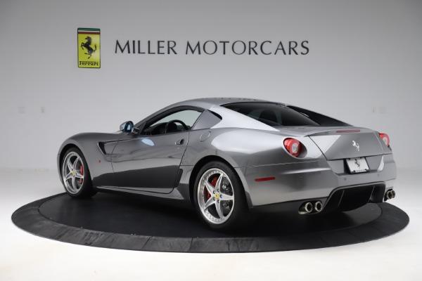 Used 2010 Ferrari 599 GTB Fiorano HGTE for sale Sold at Bugatti of Greenwich in Greenwich CT 06830 4