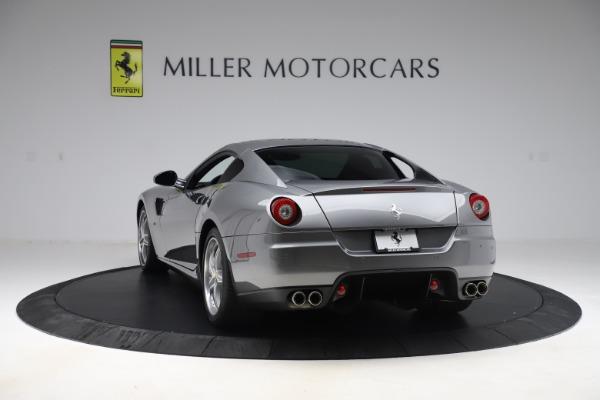 Used 2010 Ferrari 599 GTB Fiorano HGTE for sale Sold at Bugatti of Greenwich in Greenwich CT 06830 5