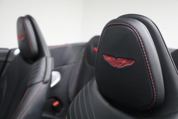 New 2020 Aston Martin DB11 Volante Convertible for sale $254,871 at Bugatti of Greenwich in Greenwich CT 06830 22
