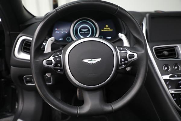 New 2020 Aston Martin DB11 Volante Convertible for sale $254,871 at Bugatti of Greenwich in Greenwich CT 06830 23