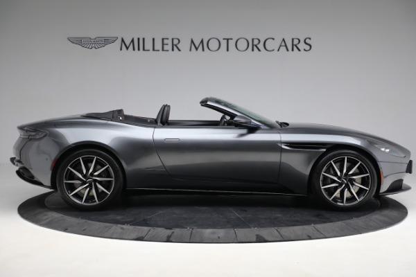 New 2020 Aston Martin DB11 Volante Convertible for sale $254,871 at Bugatti of Greenwich in Greenwich CT 06830 8